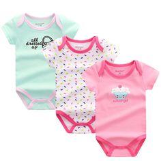 Baby Rompers Newborn Baby Boy Girls Clothes Short Sleeve Baby Clothing Girl Roupa Infantil Body Bebes Next Jumpsuit U-317  #Regalospanama #RegalosOrder here https://goo.gl/UmZDaq