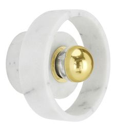 Applique Stone / Ø 18 cm Marbre blanc - Tom Dixon - Décoration et mobilier design avec Made in Design