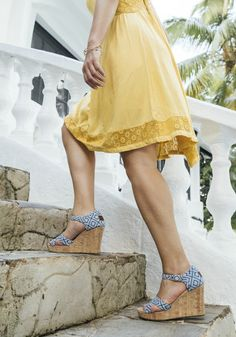 Easily take your favorite pair of TOMS wedges from day to night.