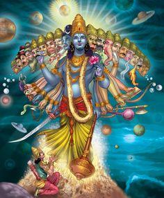 Hindu Mythology - Lord Vishnu