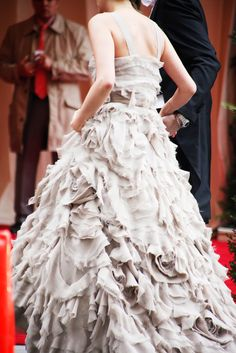 The Candid Met Gala Pics You Haven't Seen #refinery29  http://www.refinery29.com/2014/05/67476/met-ball-street-style#slide10  Those ruffles aren't light, people.