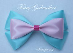 fairy godmother hair bow by abowtiqueshop on Etsy, $6.50