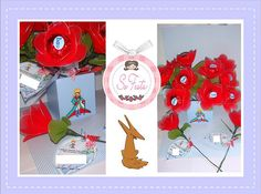 Convite Pequeno Principe - Flor com bombom by Little Kids - personalizados, via Flickr