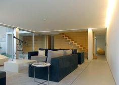 Living room: Casa Canidelo - João Laranja Queirós #decoracion