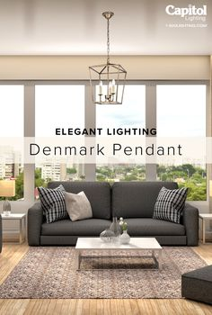 Shop the Denmark pendant in 4 different finishes. Kitchen Interior, Kitchen Decor, Open Kitchens, Small Bathroom Storage, Sofa, Couch, Travel Advice, Denmark, Pendant Lighting