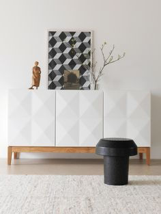 Pfister Sideboard Diamond, Stool Orbe Inspiration, Sweet Home, Pastel Colors, Furniture, Pfister, Modern House, Modern, Home Decor, Room