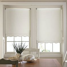 jcp | JCPenney Home™ Savannah Cut-to-Width Fringed Thermal Roller Shade - FREE SWATCH