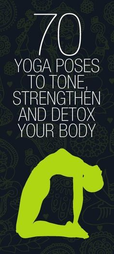 #Yoga Poses to Tone & Detox. so many good ones here.. i need to make more time for my yoga