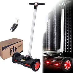 Amazon.es: Tera F1 Dos Ruedas Electrónico Auto Equilibrio Balance Scooter Two Wheels Self Balancing en Color Negro con Cargador de Enchufe Europeo - Electrónica