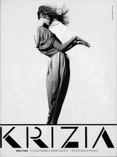 Krizia // spring ad campaign, 1989