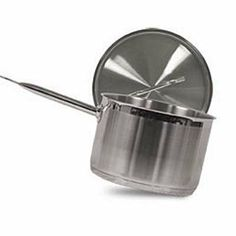 Vollrath 3813 Stainless Steel Sauce Pan with Cover, 10-1/2-Quart by Vollrath. $93.30. Perfect for sauces, soups and simmering. Made of stainless steel. Measures 11-inch diameter by 7-inch depth. Optio sauce pan with domed cover. Comes with 10-1/2-quart capacity. This Optio sauce pan with domed cover is made of stainless steel. Features an aluminum clad bottom that provides fast and even heat distribution that is perfect for sauces, soups and simmering. Domed cover ...
