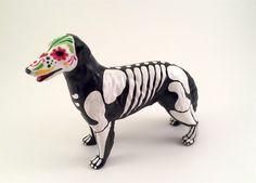 Day of the Dead irish wolfhound Greyhound Dog Sugar Skull pet memorial Dia De Los Muertos sculpture Dog skeleton Halloween Decor pet lover g by SpiritofAine on Etsy https://www.etsy.com/listing/491431629/day-of-the-dead-irish-wolfhound