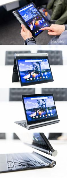 The Dell Venue has a hinge that allows it to be set up in variety positions, including a tradition chromebook, tent mode and stand mode.