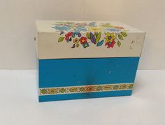 Vintage Recipe Box- Ohio Art