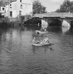 Views of Haverfordwest Back In Time, Historical Photos, Old Photos, Wales, Boat, River, History, Cymru, Pictures