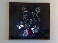 Artist Robert G Baldwin Nashville mosiac mirror petals