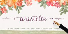 Aristelle Font Family Download