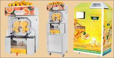Maquina de fazer suco de laranja