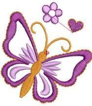 Resultado de imagem para BORDADO JANOME JEF GRATIS E IMPRESSAO Towel Embroidery, Butterfly Embroidery, Embroidery Applique, Embroidery Stitches, Brother Embroidery, Free Machine Embroidery Designs, Janome, Tag Art, Flower Art