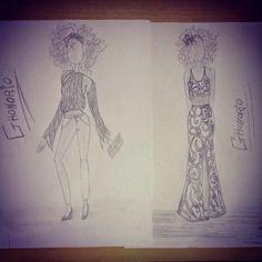 GHonorio Fashion: #Fashion #Desenhodemoda