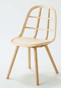 Furniture Ideas – 14 Modern Wood Chairs For Your Dining Room