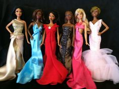Real Barbie Housewives of Atlanta by pattidolls, via Flickr
