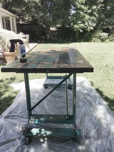 Make It Yourself // Flea Market Find Table