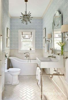 Gather some inspiration for your own bathroom makeover with these traditional bathroom design ideas. Gather some inspiration for your own bathroom makeover with these traditional bathroom design ideas. Bad Inspiration, Bathroom Inspiration, Beautiful Bathrooms, Modern Bathroom, Master Bathrooms, Family Bathroom, Small Bathrooms, Bathrooms Decor, Zen Bathroom