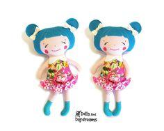 Small Doll Sewing Pattern PDF Pocket Size by DollsAndDaydreams