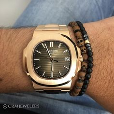 Patek 5711 in Rose Gold. Unworn and Complete. Papers 2016. $47000
