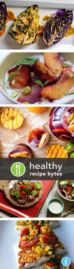5 Healthy Grilled Serve with Scales mixes for an easy, low-cal combo. Healthy Grilling Recipes, Grilled Recipes, Clean Eating Recipes, Healthy Snacks, Healthy Eating, Cooking Recipes, Bbq, Good Food, Yummy Food