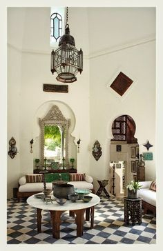 Gorgeous Moroccan details make this room stunning. Photo: www.anindiansummer.in