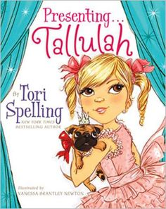 Tori Spelling writing kid books