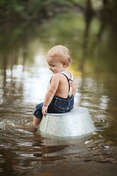ONE YEAR photos family baby boy photography creek water river boy suspenders country South Georgia Flint River monthly session 12 months little man One Year Pictures, Baby Boy Pictures, Country Baby Pictures, Summer Baby Pictures, Country Family Photos, 1 Year Photos, Monthly Pictures, Kid Photos, Kids Photography Boys