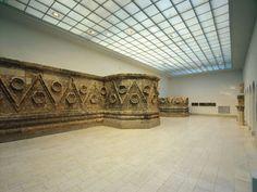 Museum für Islamische Kunst, Berlin Pergamon Museum, Museum Displays, Islamic Art, Floral Motif, Valance Curtains, Facade, Entrance, Wall, Berlin Germany