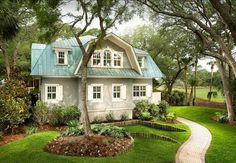 LOVE THE ROOF!!  Cottage. South Carolina Coastal Cottage. Coastal Cottage.