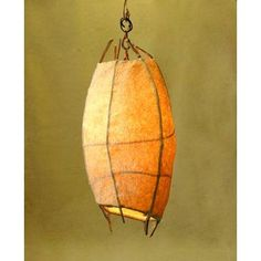 willow/tissue paper lantern