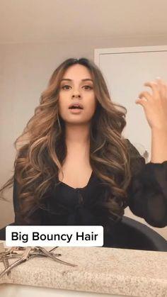 Wavy Hairstyles Tutorial, Easy Hairstyles, Wavy Hair Tutorials, Long Wavy Hairstyles, Blowout Hairstyles, Volume Hairstyles, Sporty Hairstyles, Hairstyles Videos, Hair Up Styles
