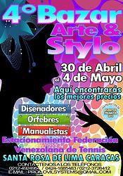 BAZAR DE LAS MADRES ARTE & STYLO 2014