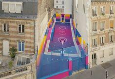 New street basket, Pigalle, Paris Photographer: Sebastien Michelini