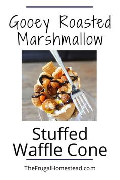 These have quickly become one of my favorite and easiest sweet treats. Stuff them with whatever your heart desires! Perfect for your next gathering or for a kid�s birthday party. #wafflecone #marshmallow #chocolate #candy #smores #campfire Bbq Desserts, Best Dessert Recipes, Sweet Desserts, Fall Recipes, Whole Food Recipes, Delicious Desserts, Summer Recipes, Chocolate Snacks, White Chocolate Chips