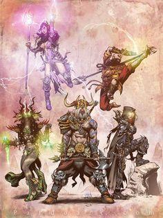 Diablo III art contest by pardoart on deviantART