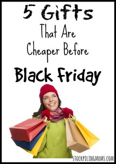5 Gifts That Are Cheaper Before Black Friday