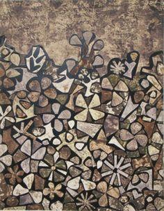 Pochoir - Jean Dubuffet - Jardin de quite-vite