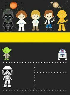 Trendy Ideas For Party Kids Invitation Lego Birthday Star Wars Baby, Star Wars Kids, Star Wars Invitations, Diy Invitations, Birthday Invitations, Lego Birthday, Star Wars Birthday, Aniversario Star Wars, Festa Toy Story