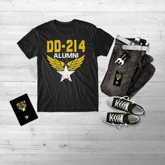 b9f9c92509c3 military shirt // DD-214 Alumni Shirt // DD-214 Veteran T Shirt // Military  Gift Tee // Proud Vetera