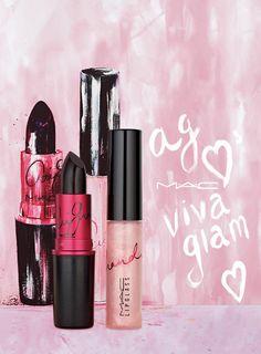 MAC  Ariana Grande 2016 VIVA GLAM Spokesperson | MAC Lipstick VIVA GLAM Ariana Grande: Plum (Matte), MAC Lipglass VIVA GLAM Ariana Grande: Shimmering pink  — Beautezine