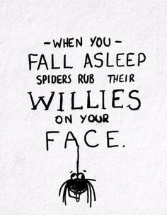 spiders rub their willies - Yahoo Search Results