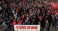 Metalúrgicos deixam greve após cancelamento de 798 demissões   Infotau