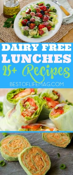 dairy free lunch ideas are the best food allergy recipes and are easy to w., These dairy free lunch ideas are the best food allergy recipes and are easy to w., These dairy free lunch ideas are the best food allergy recipes and are easy to w. Dairy Free Muffins, Dairy Free Soup, Dairy Free Yogurt, Milk Dairy, No Dairy Diet, Lactose Free Diet, Lactose Allergy, Dairy Free Diet Plan, Milk Allergy